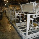 Gas Powered Shelf Rack Industrial Container Photo