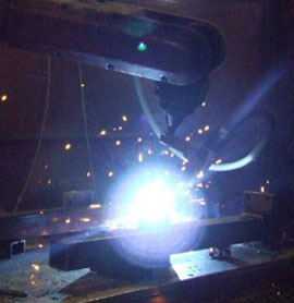 Bulk Steel Container Welding Photo