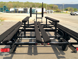 Pontoon Boat Trailer Photo