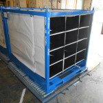 Industrial Bag Rack Shipping Container Photo